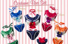 Anime-Inspired Lingerie