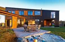 Stunning Seaside Geometric Homes