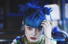 Polychromatic Punk Editorials