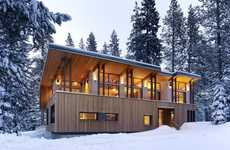 25 Snowy Seasonal Homes
