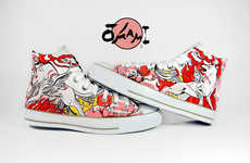 Artistic Custom Shoes