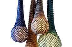 Chromatic Crocheted Lighting
