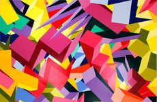 Dimensional Cubism Art