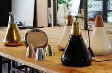 Glossy Organic Lamps