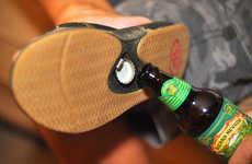 Bottle-Popping Footwear