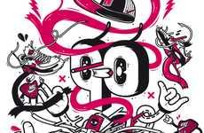 24 Examples of Graffiti Branding