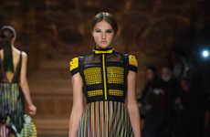 Linear Kaleidoscopic Fashion