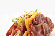Pasta Bacon Taco Hybrids
