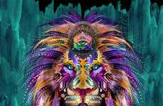 14 Psychedelic Animal Examples