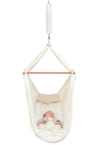 natural fabric baby bed