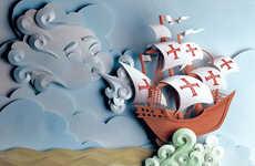 3D Storytelling Papercrafts