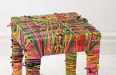 Recycled Balloon Furniture