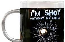 Bullet Hole Coffee Mugs
