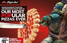 Reptilian Pizza Promotions