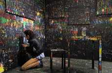 Interactive Scratch Board Installations