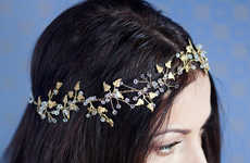 Delicately Botanical Headpieces