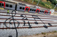 Train Track Graffiti