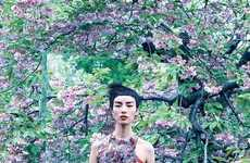 Foliage-Focused Fashion Editorials