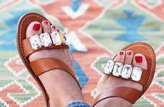 10 Crafty DIY Sandals