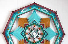 DIY Yarn Mandalas