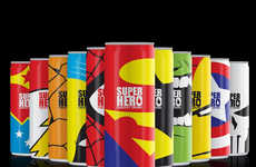 40 Examples of Energy Drink Packaging