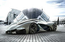 100 Futuristic Vehicle Designs