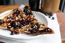 Nutty Jam Pizzas
