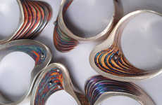 Artful Oyster Rings