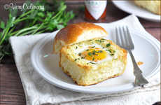 Herb-Infused Breakfast Buns