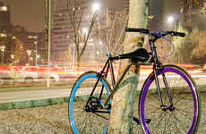 Frame-Attached Bike Locks