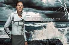 Storm-Ridden Fashion Campaigns