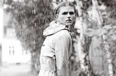 Posh Precipitation Fashion Campaigns