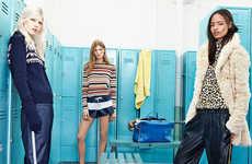 Collegiate Locker Lookbooks