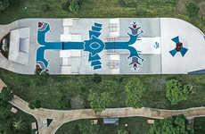Aztec-Inspired Skateparks