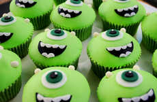 Cinematic Monster Cupcakes