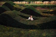 Glam Garden Maze Editorials