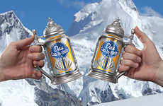 Beer Can Steins