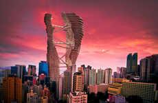 Self-Contained Skyscraper Cities