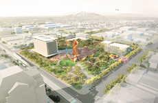 Copper-Focused Public Squares