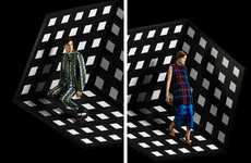 Illusionary Op Art Advertorials
