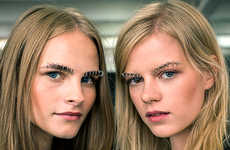 Grunge-Reviving Brow Accessories