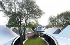 Elliptical Courtyard Abodes
