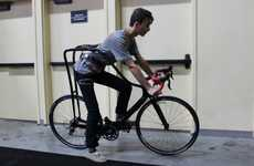 Rider-Dangling Bicycles