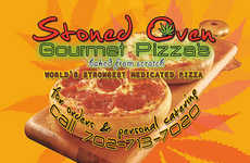 Gourmet Cannabis Pizzas