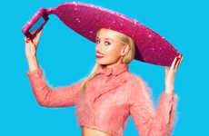 Glitzy Selfie Sombreros