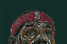 Logo-Adorned Portraits