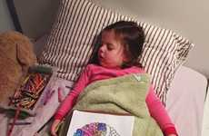 Artistic Sleeping Toddler Portraits