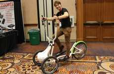 Ski-Simulating Bikes