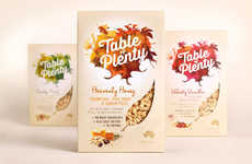 Autumnal Breakfast Branding