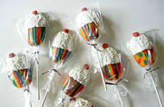Cupcake Cookie Pops